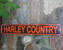 HARLEY COUNTRY TIN SIGN