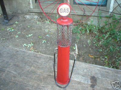 TIN GAS PUMP