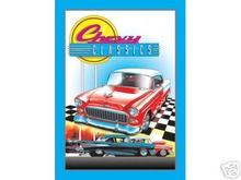 CHEVY CLASSICS METAL SIGN