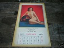 1962 CALENDAR  LARRY'S CAR SHOP