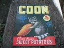 COON SWEET POTATOES PRINT