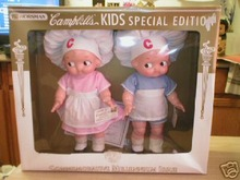 CAMPBELL KIDS DOLLS HORSMAN UNIQUE CHRISTMAS GIFT MIB