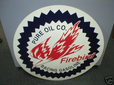 PURE OIL COMPANY - FIREBIRD RACING GASOLINE
