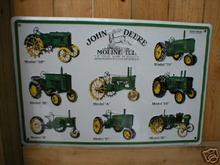 JOHN DEERE 8 TRACTORS SIGN