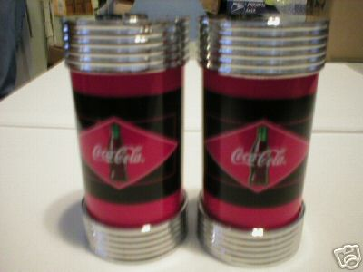 COCA-COLA SALT & PEPPER SET