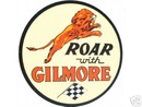 ROAR WITH GILMORE SIGN LARGE METAL SIGNS NIB