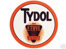 BAKED ENAMEL TYDOL ETHYL SIGN METAL ADV SIGNS