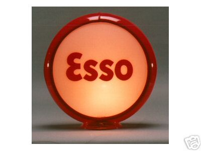ESSO GASOLINE GAS PUMP GLOBE SIGN