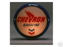 NEW CHEVRON GASOLINE GAS PUMP GLOBE
