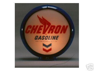 NEW CHEVRON GASOLINE GAS PUMP GLOBE