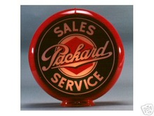 NEW PACKARD SERVICE GAS PUMP GLOBE 13.5