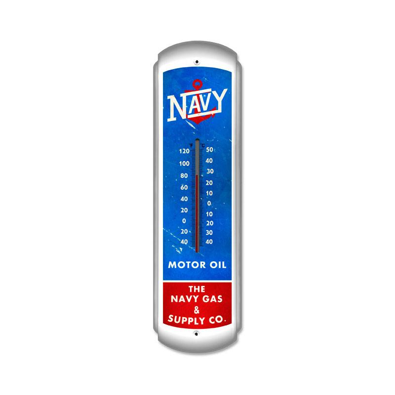 NAVY GAS SUPPLY COMPANY LARGE THERMOMETER