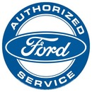 Ford Authorized Service Metal Sign