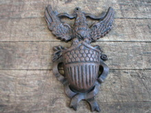 Cast Iron Eagle Match Holder