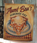HOMEMADE PIES TIN METAL SIGN
