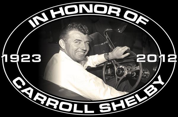 CARROLL SHELBY MEMORIAL HEAVY SIGN