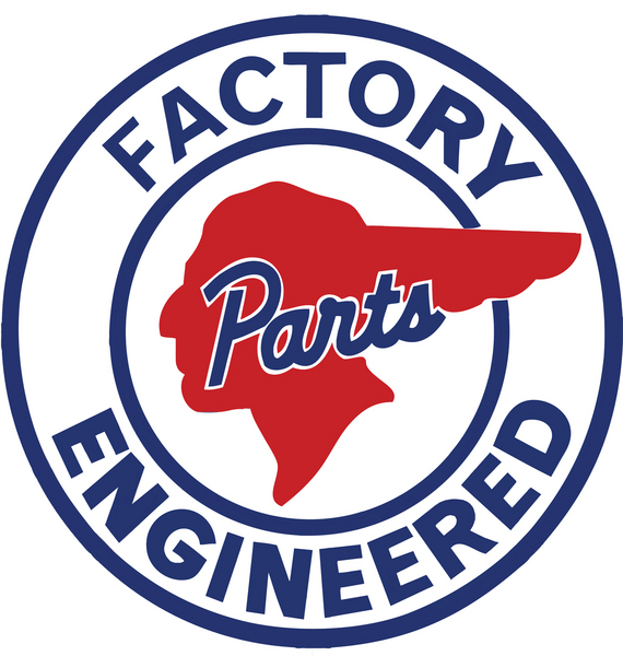 PONTIAC FACTORY ENGINEERED HEAVY ROUND SIGN 12