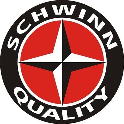 SCHWINN QUALITY HEAVY ROUND STEEL SIGN NEW