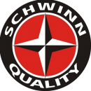 SCHWINN QUALITY HEAVY ROUND STEEL SIGN NEW
