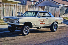 WIL E COYOTE DRAG RACE CAR GASSER