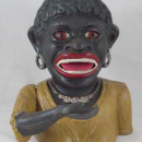 DIANA MECHANICAL BANK CAST IRON