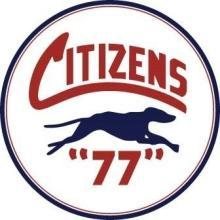 CITIZENS 77 HEAVY ROUND STEEL SIGN 25.5 INCH
