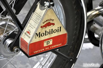 MOBILOIL MOTORCYCLE KIT HEAVY METAL SIGN