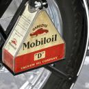 MOBILOIL MOTORCYCLE KIT HEAVY METAL SIGN