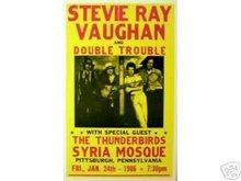 STEVIE RAY VAUGHN CONCERT POSTER PICTURE