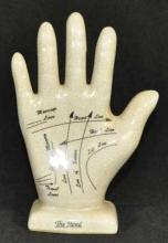 PORCELAIN SMALL HAND STRAIGHT FINGERS