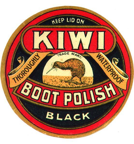 KIWI SHOE POLISH METAL SIGN 12