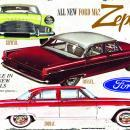 FORD ZEPHYR HEAVY METAL RECTANGLE SIGN Z