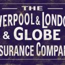 LIVERPOOL LONDON GLOBE INSURANCE COMPANY HEAVY METAL SIGN