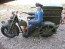 PARCEL POST MOTORCYCLE CAST IRON