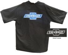 CHEVROLET BOWTIE LOGO SCREEN PRINTED WORKSHIRT