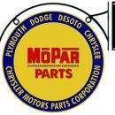 MOPAR DOUBLE SIDED BRACKET HANGING SIGN 18