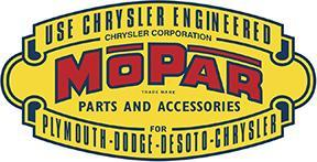 MOPAR DIECUT HEAVY METAL SIGN RED BLACK YELLOW 18