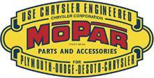 MOPAR DIECUT LOGO HEAVY METAL SIGN 34