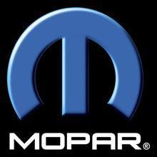 MOPAR LOGO HEAVY METAL SIGN 15
