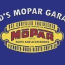 DAD'S MOPAR GARAGE HEAVY STEEL SIGN 18