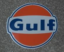 GULF OIL GASOLINE 60'S ERA STYLE 24