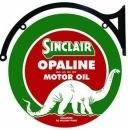 SINCLAIR OPALINE MOTOR OIL DOUBLE SIDED 22
