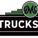 GMC TRUCKS HEAVY METAL SIGN 34