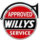 WILLYS APPROVED SERVICE DOUBLE SIDED 22