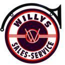 WILLYS SALES SERVICE DOUBLE SIDED 22