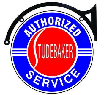 STUDEBAKER AUTHORIZED SERVICE DOUBLE SIDED 22