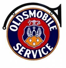 OLDSMOBILE SERVICE DOUBLE SIDED 22