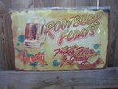 ROOTBEER FLOATS TIN METAL SIGN