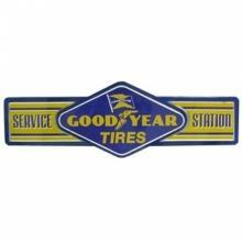 GOODYEAR TIRES SERVICE STATION Metal SHOP Garage MAN CAVE Sign 26