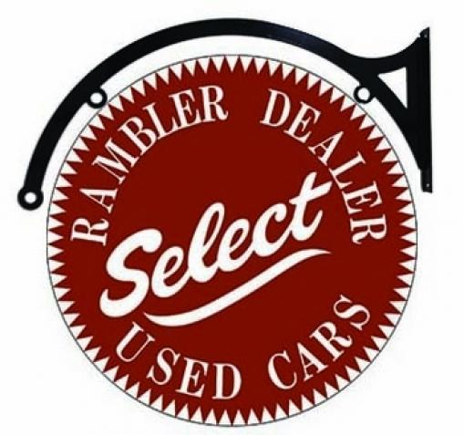 Rambler Dealer Select Used Cars Double Sided 22